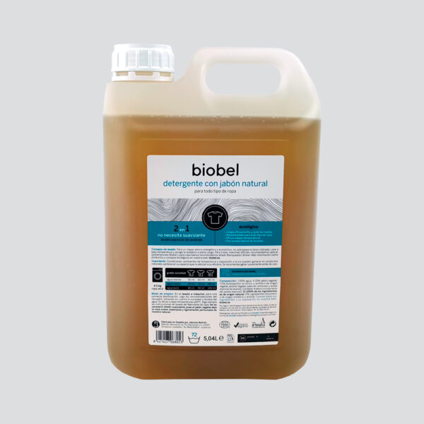 Ecological liquid detergent Biobel 5L